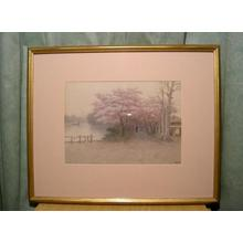 Ito Yuhan: Pond and Village in Spring - Japanese Art Open Database
