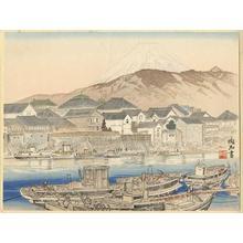 Jokata Kaiseki: Fuji from the Banks of the Kano River - Japanese Art Open Database