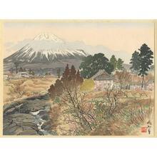 Jokata Kaiseki: Mt Fuji from Fukensenji Temple - Japanese Art Open Database