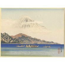 Jokata Kaiseki: Mt Fuji from the Port of Shimizu - Japanese Art Open Database