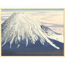 Jokata Kaiseki: Southern View of Fuji in Early Spring - Japanese Art Open Database