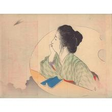 梶田半古: Bijin thinking - Japanese Art Open Database