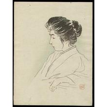梶田半古: Womans Portrait - Japanese Art Open Database