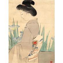 Kajita Hanko: Yatsubashi — 八ッ橋 - Japanese Art Open Database