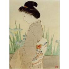 Kajita Hanko: Yatsubashi — 八ッ橋 - Japanese Art Open Database