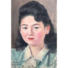 Kajiwara Kongo: Bijin Portrait - Japanese Art Open Database