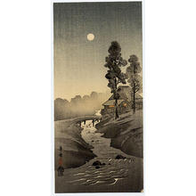 Kako Morita: River and Moon - Japanese Art Open Database