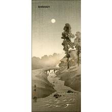 Kako Morita: River and Moon - Japanese Art Open Database
