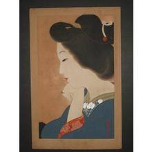 Kamoshita, Choko: September - Tipsy — 九月 ほろ酔い - Japanese Art Open Database