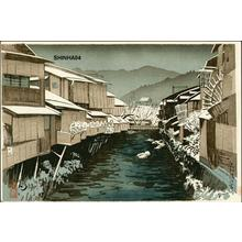 吉川観方: Kyoto riverbanks - Japanese Art Open Database