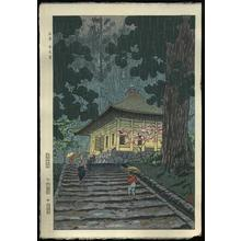 Kasamatsu Shiro: Engakuji Temple in Kamakura - Japanese Art Open Database