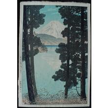 Kasamatsu Shiro: Hakone Ashinoko no Fuji - Japanese Art Open Database