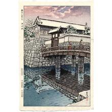 Kasamatsu Shiro: Hirakawa Gate, Tokyo - Japanese Art Open Database