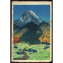 Kasamatsu Shiro: Mt. Kasugatake in Shinga Heights - Japanese Art Open Database