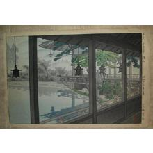 Kasamatsu Shiro: Pavilion at Kanaya Hotel, Nikko - Japanese Art Open Database