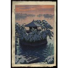 笠松紫浪: Snow In Matsushima, Matsujima - Japanese Art Open Database