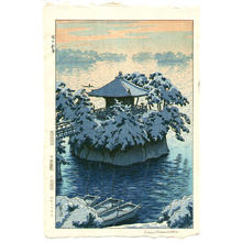 笠松紫浪: Snow In Matsushima, Matsujima - Japanese Art Open Database