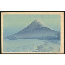 Kasamatsu Shiro: Sunrise at Shizuura - Japanese Art Open Database