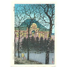 Kasamatsu Shiro: Tokyo Station - Japanese Art Open Database