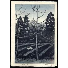 Kasamatsu Shiro: Twilight - Tasokare - Japanese Art Open Database