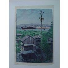 Kasamatsu Shiro: Yatozaka in Yokohama - Japanese Art Open Database