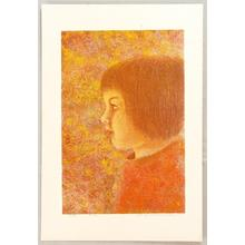 Katsuda Yukio: No 086 - Portrait of a Girl - Japanese Art Open Database