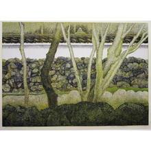 Katsuda Yukio: No 129 - Evening Scene of Sagano — 嵯峨野の夕景 - Japanese Art Open Database