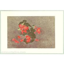 Katsuda Yukio: No 137- Begonia - Japanese Art Open Database