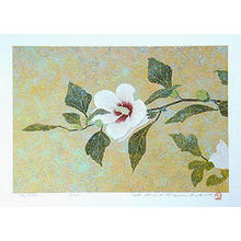 Katsuda Yukio: No 225- Rose of Sharon - Japanese Art Open Database