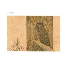 Katsuda Yukio: No 69- Owl - Japanese Art Open Database