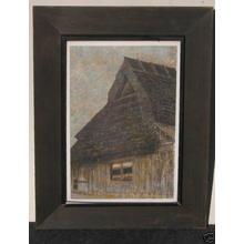 Katsuda Yukio: No 82- Farmhouse - Japanese Art Open Database