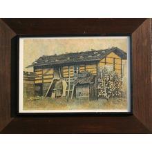 Katsuda Yukio: No 97- House at Inoshita — 井下の小屋 - Japanese Art Open Database