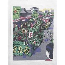 Kawanishi Hide: Kyoto Port Festival — 神戸港祭 - Japanese Art Open Database