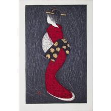 河野薫: Dancing Figure (Eshima)- Oban - Japanese Art Open Database