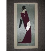 河野薫: Dancing Figure- Taki- LE - Japanese Art Open Database