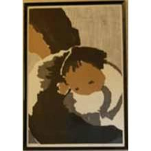 Kawano Kaoru: Mothers Love- Mother and Child - Japanese Art Open Database