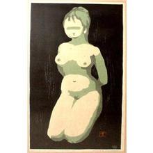 Kawano Kaoru: Nude 1 - Japanese Art Open Database
