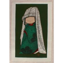 Kawano Kaoru: Snow Camellia - Japanese Art Open Database
