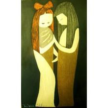 Kawano Kaoru: TWO GIRLS, Friends, Couple (8) - Japanese Art Open Database
