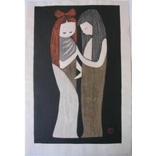 河野薫: TWO GIRLS, Friends, Couple (8) - Japanese Art Open Database