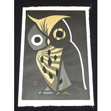河野薫: The Big Owl - Japanese Art Open Database