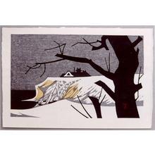 河野薫: Winter Mansion - Japanese Art Open Database