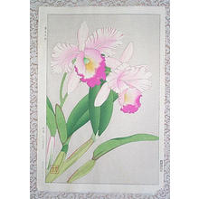 Kawarazaki Shodo: Orchid - Katoriya - Japanese Art Open Database