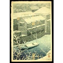 川瀬巴水: Ocha-No-Mizu, Tokyo - Japanese Art Open Database