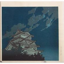川瀬巴水: Himeji Castle - Japanese Art Open Database