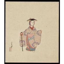 Kawase Hasui: Doro Ningyo - Japanese Art Open Database