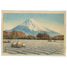 Kawase Hasui: A frosty morning at Nagaoka in Izu Peninsula - Japanese Art Open Database