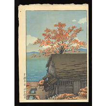 Kawase Hasui: Autumn at Chuzenji - Japanese Art Open Database