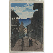 Kawase Hasui: Autumn at the Arayu Spa, Shiobara - Japanese Art Open Database