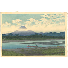 Kawase Hasui: Banyu River - Japanese Art Open Database